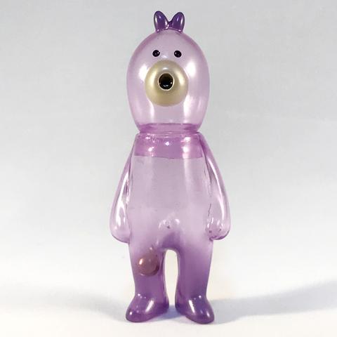 コレの見守りソフビ人形【Thailand Clear Purple】