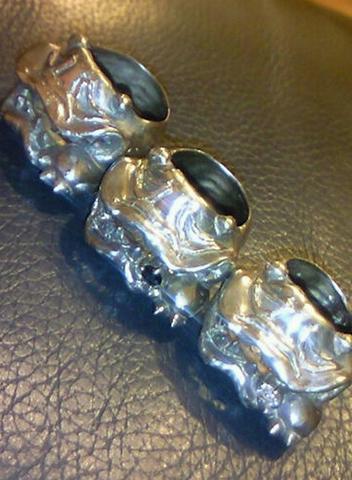 MAD PANDA Silver Ring
