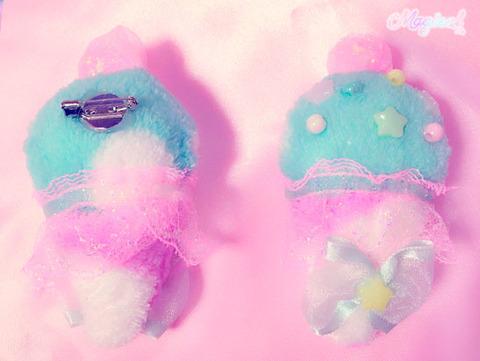 アイスクリーム☆ブローチ