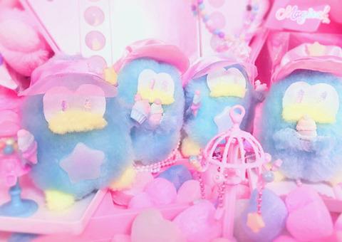 ペンギンのアイス屋さんぬいぐるみネックレス☆サンバイザー