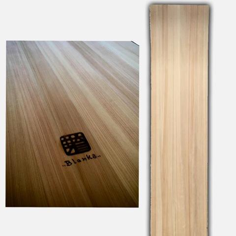 芽育 雪板blanks ひのき 2ply 120cm×30cm×1cm