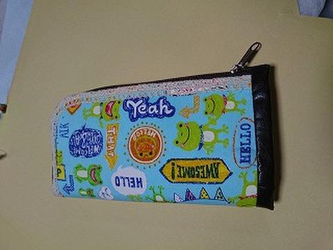 かえるさんL字ファスナー長財布