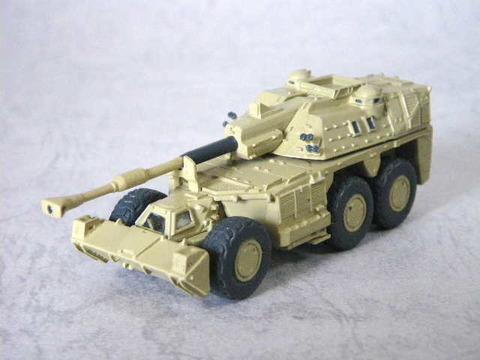 1/144  G6 ライノ 装輪自走砲(南アフリカ)