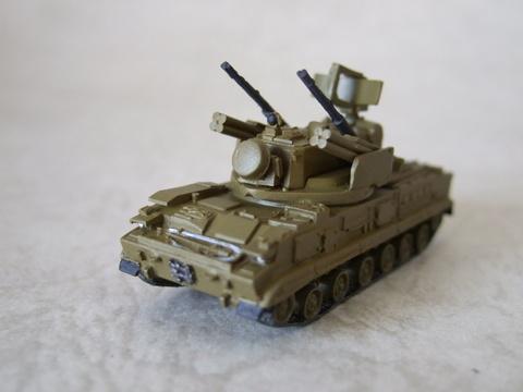 1/144 ツングースカ 対空機関砲/ミサイルシステム(ロシア)