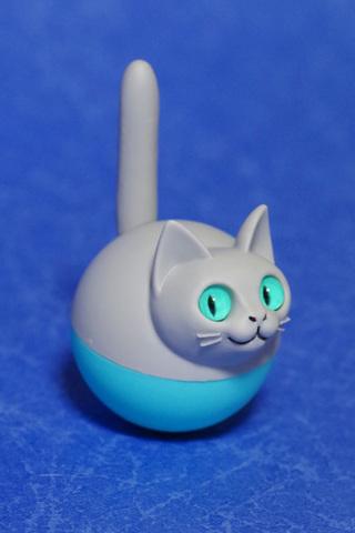 揺れ球ネコ(グレー)