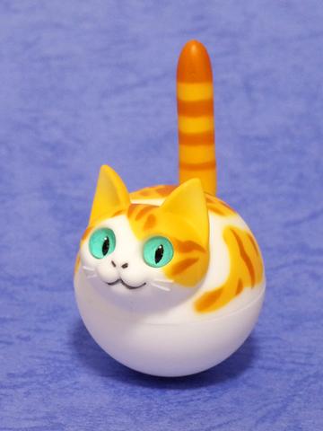 揺れ球ネコ(チャトラ白)