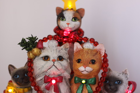 ダンバリーミント Holly Jolly Christmas Cats
