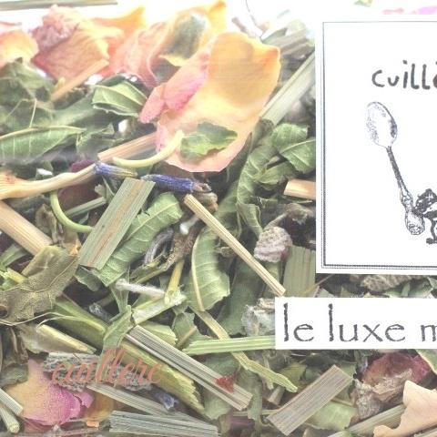 cuillereオリジナル オーガニックブレンドハーブティー ~ le luxe moment ~ ブレンドハーブティー3点以上ご購入で定形外送料無料