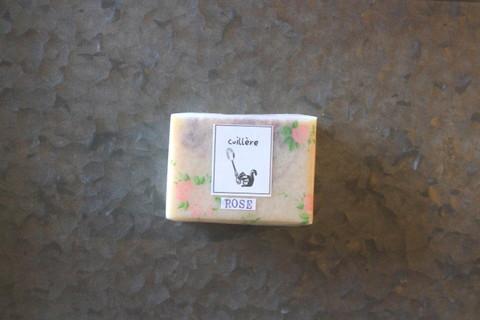 naturelle savon herbe「rose」 ~コールドプロセス製法雑貨ハーブソープシリーズ~ 自家製自然栽培ロサ・ガリカ・オフィシナリス使用