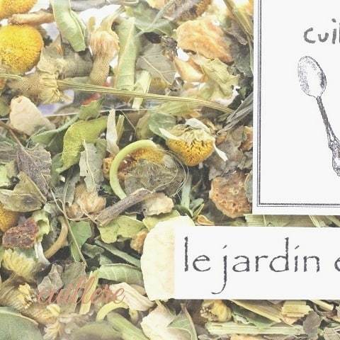 cuillereオリジナル オーガニックブレンドハーブティー ~ le jardin ensoleile ~ブレンドハーブティー3点以上ご購入で定形外送料無料