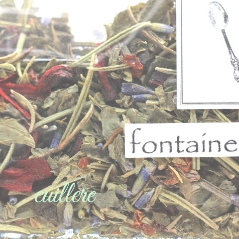 cuillereオリジナル オーガニックブレンドハーブティー ~ fontaine de lumiere ~ ブレンドハーブティー3点以上ご購入で定形外送料無料