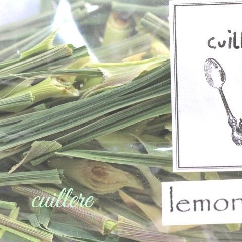 cuillere Pure, naturelle et ~lemon grass~ 自家製自然栽培レモングラス ダイエットサポートに、脂肪流動効果!