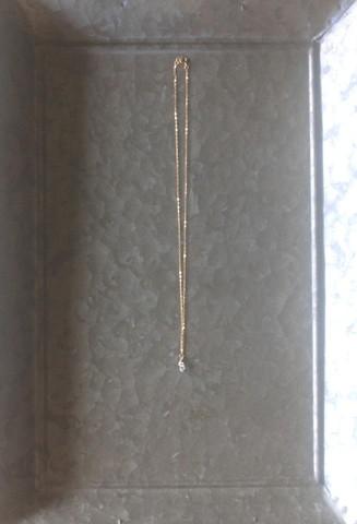 オリジナル 14kgf天然石アクセサリー ハーキマーダイヤモンドのミニマムネックレス 定形外郵便送料無料
