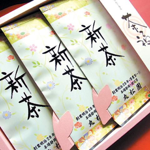 茶福・竹印100g袋×3本セット箱入り