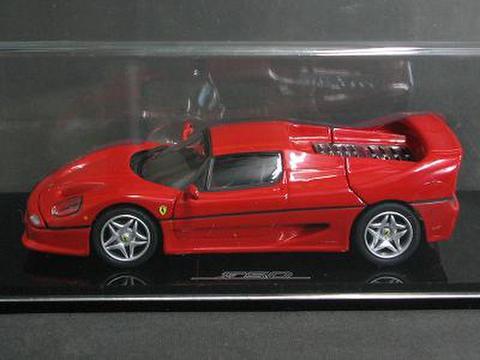京商マテル 1/43 フェラーリF50 赤色