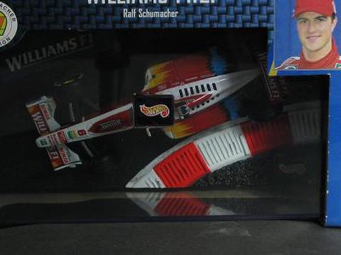 マテル 1/43 ウィリアムス FW21 ラルフ.シューマッハ ゼッケン6