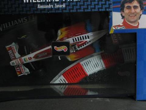 マテル 1/43 ウィリアムズ FW21 Alessandro.Zanardi ゼッケン5