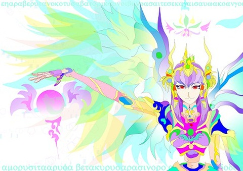 電子妖精イラスト 「現在」