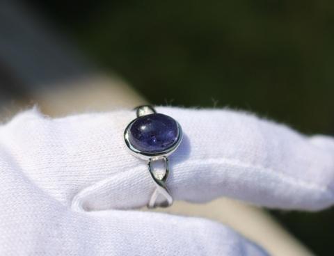 アイオライト 指輪(12号)