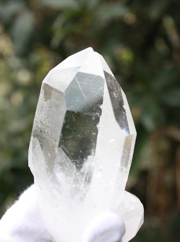 超稀少! ガネーシュヒマール水晶原石 大型ポイントタイプ