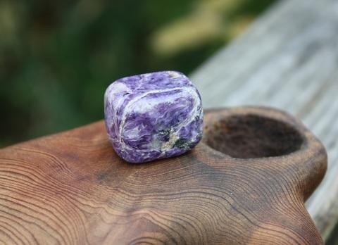 セール特価! レア! サイコロ型 チャロアイト 原石タンブル