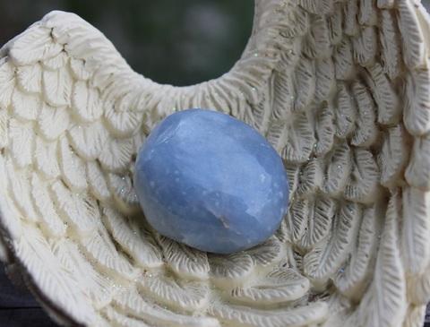 天使の石 エンジェライト タンブル