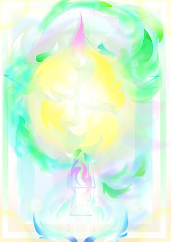会社(家族)のハイ・エネルギーシンボルアート