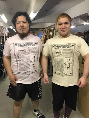 【3/24(金)~ 4/9(日)ご注文受付】アントーニオ本多Tシャツ(ライトピンク)