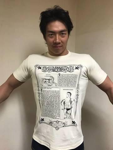 【3/24(金)~ 4/9(日)ご注文受付】アントーニオ本多Tシャツ(ナチュラル)