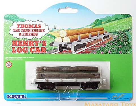 ERTL Henry's Log Car