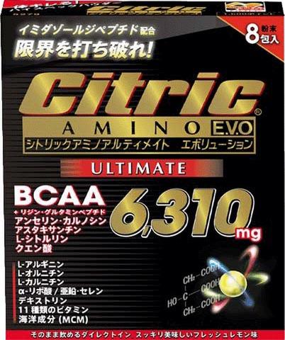 シトリックアミノ           アルティメイトエボリューション           7.5g×8包