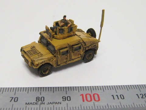 M1151ハンヴィー簡易組み立て版