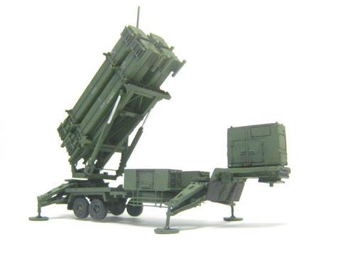 航空自衛隊 PAC3実弾キャニスタ4連装Br
