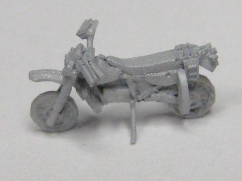 陸上自衛隊偵察オートバイセット