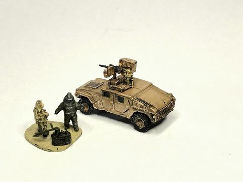 M1025ハンヴィー&地雷処理チームセット