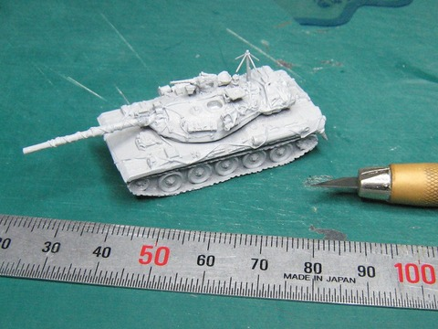 陸上自衛隊 評価支援部隊仕様74式戦車