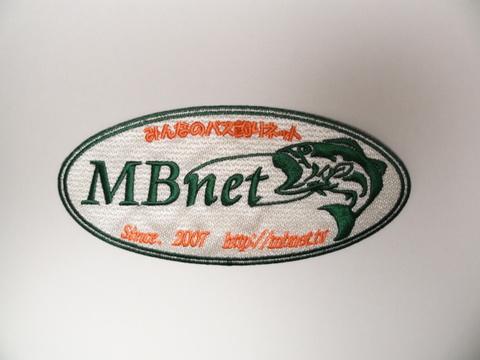 MBnet ワッペン 小