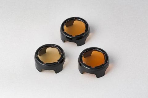 メガライトキャップ(電球色フィルター3色) 型式KL-1210