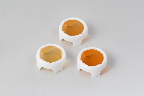 メガライトキャップ ホワイト (電球色フィルター3色) 型式WO-1000
