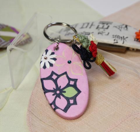 キーホルダー (ピンク)[送料込み]