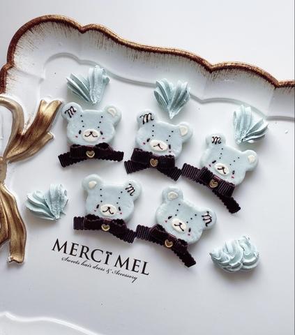 チョコミント cookiebear ring ヘアピン
