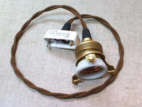 ペンダント灯具 E26用 BR 60cm HS2171