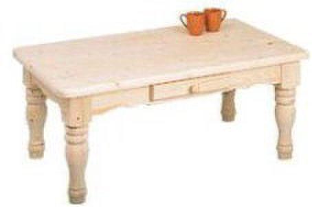 コーヒーテーブル 丸脚 無塗装組立キット