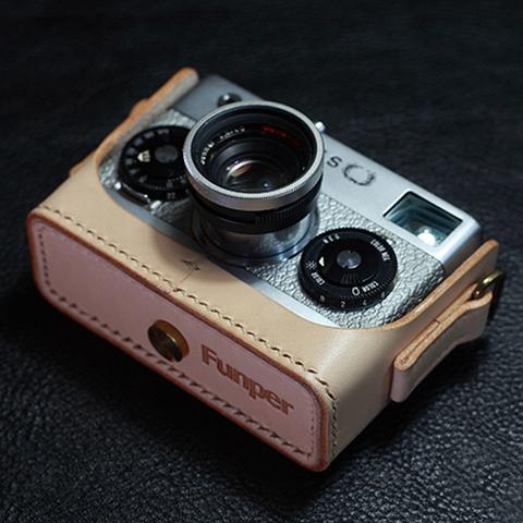 Rollei(ローライ)35S用 本革カメラケース(ナチュラル)