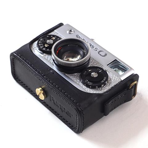 Rollei(ローライ)35S用 本革カメラケース(ブラック)