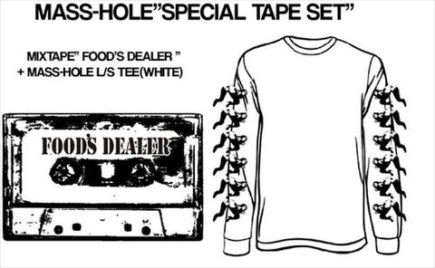 "MASS-HOLE / FOOD'S DEALER""SPECIAL SET-size M"