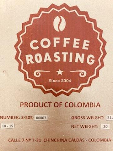 焙煎豆 コロンビア バレルエイジド プリマベーラ  200g