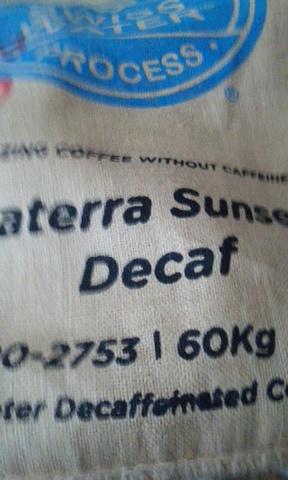 焙煎豆 ブラジル ダテーラ・カフェインレス 200g
