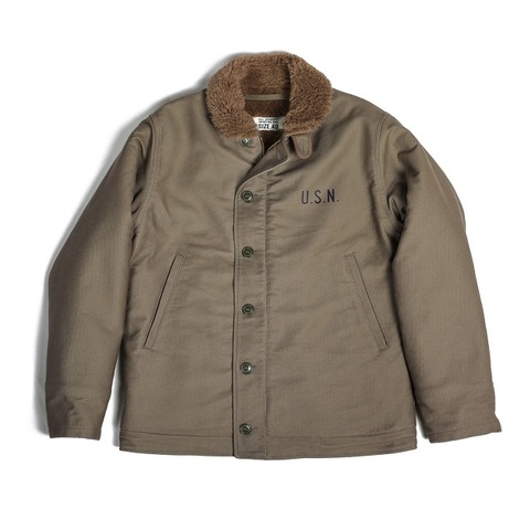 N-1 Deck Jacket Olive/Billkleso mfg