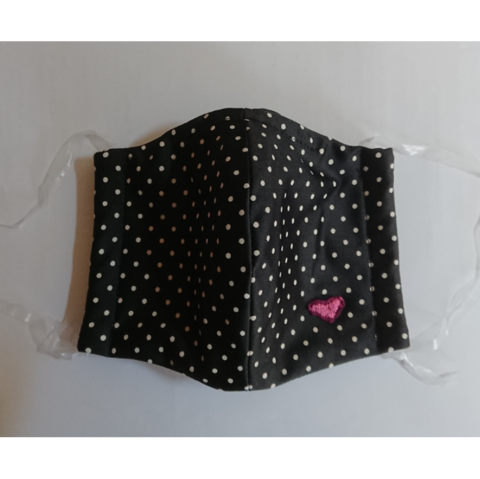 布製 立体 マスク ドット